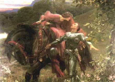La Belle Dame sans Merci (Sir Frank Dicksee, 1903)